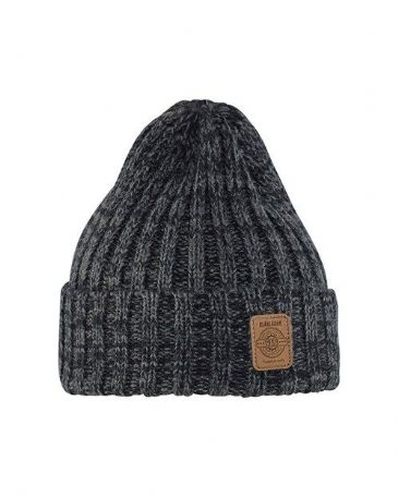 Blaklader 2199 Rib-Knit Winter Hat (Black Melange)